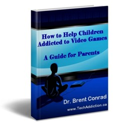 children addicted to video games